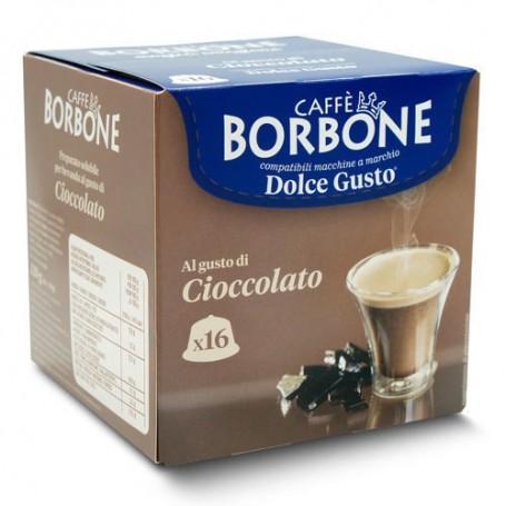 CIOCCOLATO - Capsule Compatibili Dolce Gusto - Caffè Borbone