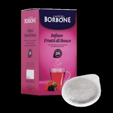 FRUTTI DI BOSCO - Cialde Filtrocarta ESE 44mm - Caffè Borbone