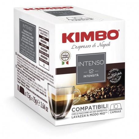 Miscela INTENSO - A Modo Mio Capsule Compatibili - Caffè Kimbo