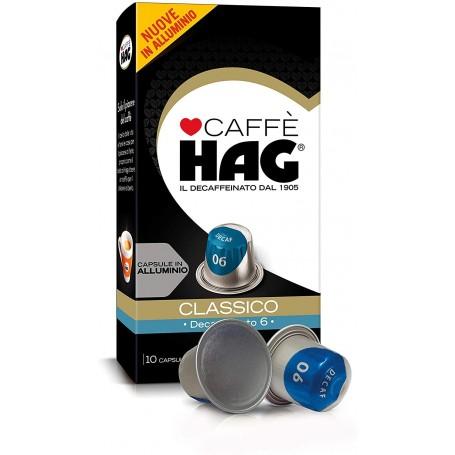 HAG Decaffeinato - Nespresso Capsule Compatibili - Caffè Hag