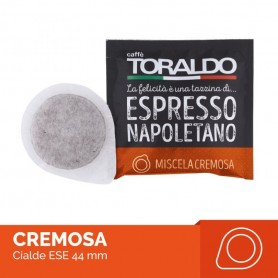Miscela CREMOSA - Cialda Filtrocarta ESE 44mm - Caffè Toraldo