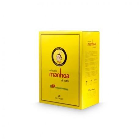 Miscela MANHOA - Cialde Filtrocarta ESE 44mm - CAFFÈ PASSALACQUA