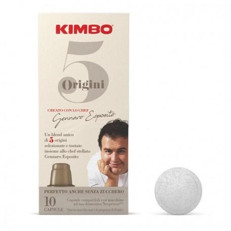 Miscela 5 Origini - Nespresso Capsule Compatibili - Caffè Kimbo