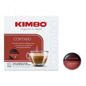 CORTADO - CAFFÈ MACCHIATO - Capsule Compatibili Dolce Gusto - Caffè Kimbo