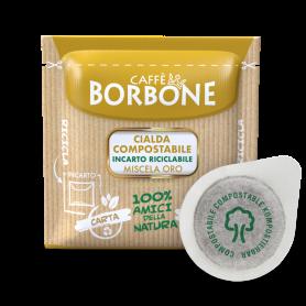 Miscela ORO - Cialde ESE 44 mm - Caffè Borbone