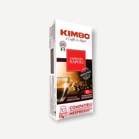 Miscela Napoli - Nespresso capsule compatibili - Caffè Kimbo