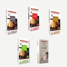 MIX - Nespresso Capsule Compatibili - Caffè Kimbo