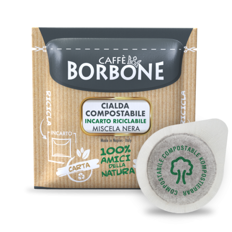 Miscela NERA - Cialde ESE 44mm - Caffè Borbone