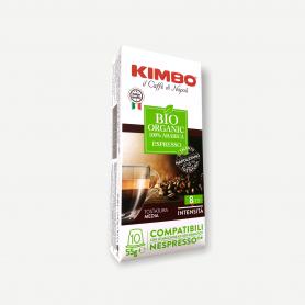 Miscela Bio Organic - Capsule Compatibili Nespresso - Caffè Kimbo
