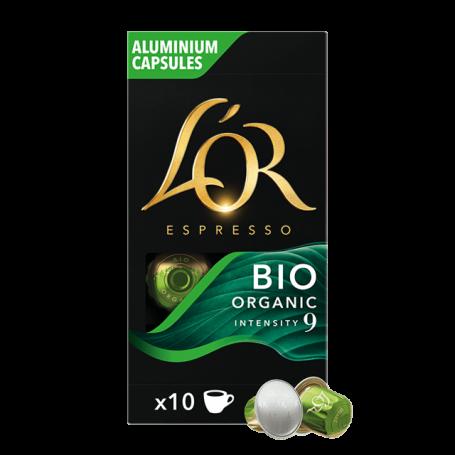 ESPRESSO BIO ORGANIC - INTENSO - Capsule Compatibili Nespresso - L'Or Caffè