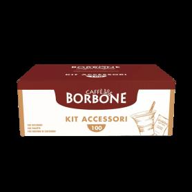 Kit da 100 - Accessori per Caffè Borbone