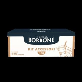 Kit da 150 - Accessori Caffè Borbone